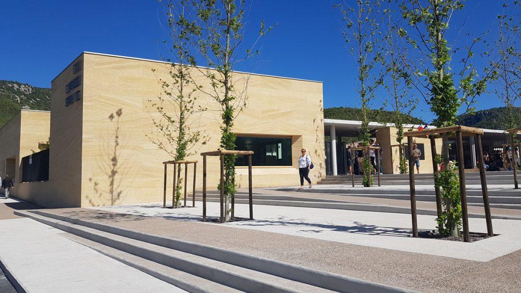 Construction – Inauguration de la nouvelle école Simone-Veil de Cuges-Les-Pins