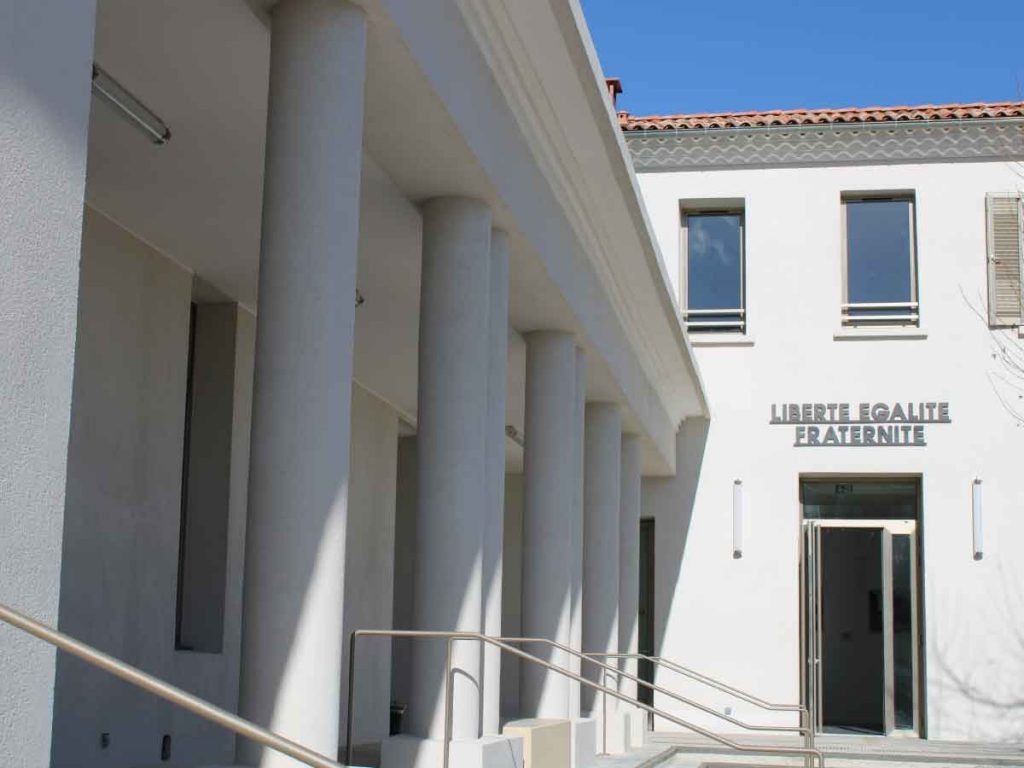 Inauguration du Pôle administratif et culturel Jacques Peuvergne